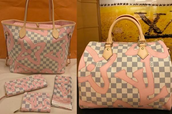 Louis Vuitton Damier Azur Tahitienne Archives  eff33c1b18f97