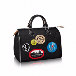 Louis Vuitton Epi World Tour Speedy 30 Bag