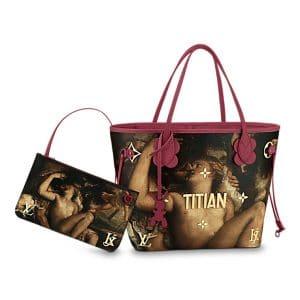 Louis Vuitton Magenta Mars, Venus and Cupid Neverfull MM Bag