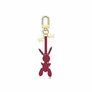 Louis Vuitton Magenta Rabbit Bag Charm