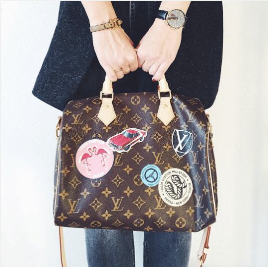 Louis Vuitton Monogram Canvas World Tour Speedy Bandouliere 30. IG   anistondk bcb324fe7b079