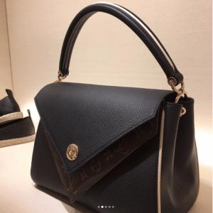Louis Vuitton Noir Double V Bag 2