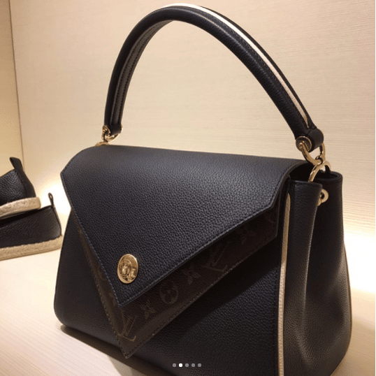 96f4bb7eb8bf Louis Vuitton Noir Double V Bag 2. IG  lvlover0304