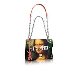 Louis Vuitton Poppy Mona Lisa Chain Bag