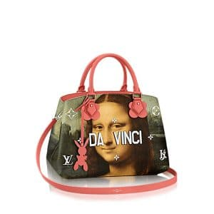 Louis Vuitton Poppy Mona Lisa Montaigne MM Bag