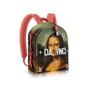 Louis Vuitton Poppy Mona Lisa Palm Springs Backpack Bag