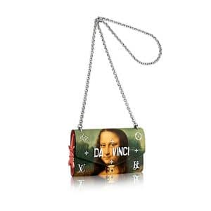 Louis Vuitton Poppy Mona Lisa Wallet on Chain