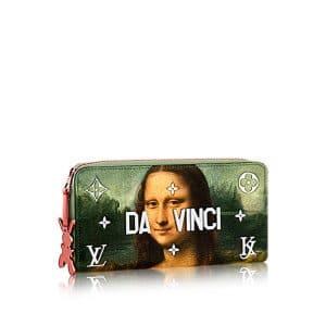 Louis Vuitton Poppy Mona Lisa Zippy Wallet