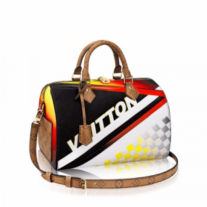 Louis Vuitton Race Print Speedy Bandouliere 30 Bag 1