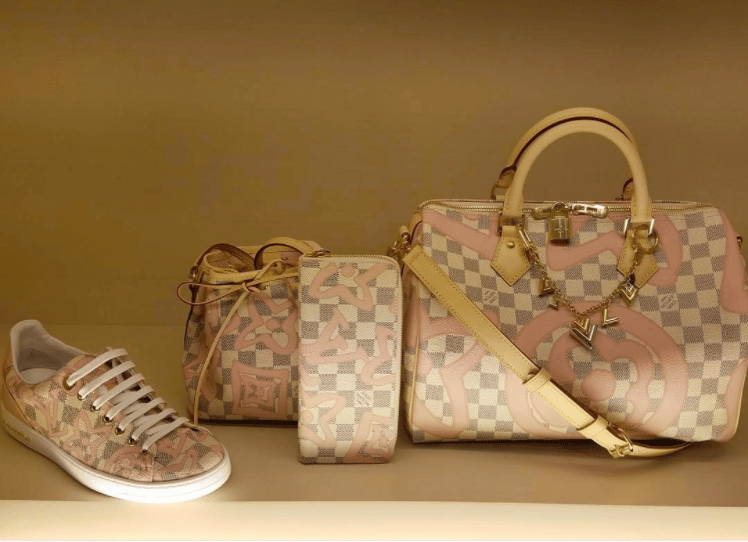 d2330c7f7a1 Louis Vuitton Damier Azur Tahitiennes Collection | Spotted Fashion
