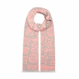 Louis Vuitton Rose Ballerine Damier Azur Tahitienne Stole