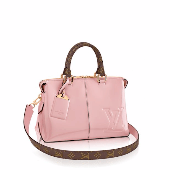 louis vuitton tote miroir bag reference guide spotted