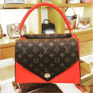 Louis Vuitton Rubis Double V Bag 2