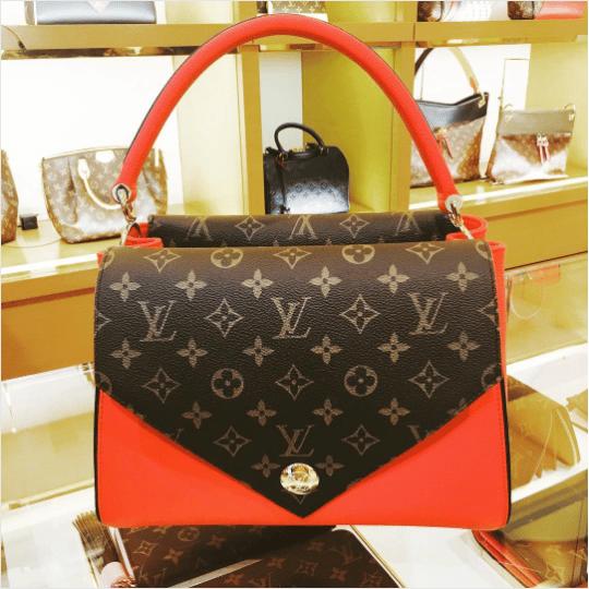 027e8bd930fc Louis Vuitton Rubis Double V Bag 2. IG  lalaloveslv