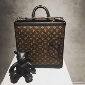 Louis Vuitton x Fragment Monogram Canvas Luggage Bag