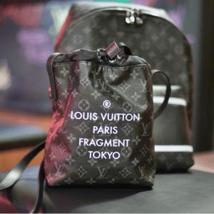 Louis Vuitton x Fragment Monogram Eclipse Drawstring Bag 2