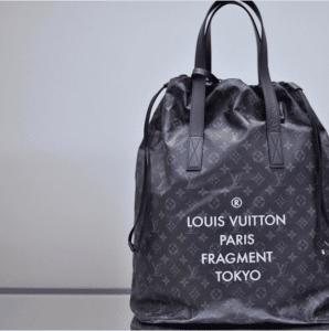 Louis Vuitton x Fragment Monogram Eclipse Tote Bag