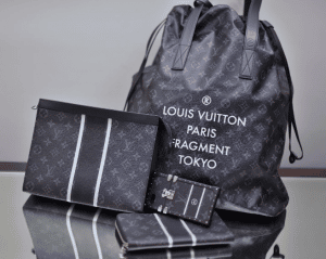Louis Vuitton x Fragment Tote Bag and Small Leather Goods