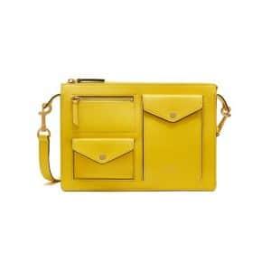 Mulberry Lemon Cherwell Satchel Bag