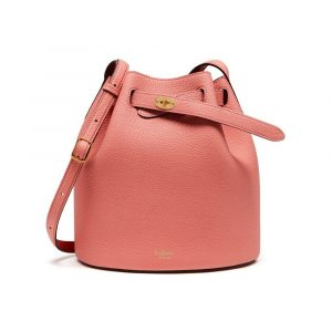 Mulberry Macaroon Pink/Scarlet Abbey Bag