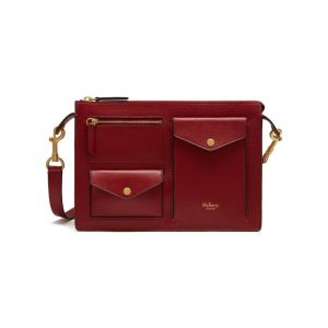 Mulberry Maroon Cherwell Satchel Bag