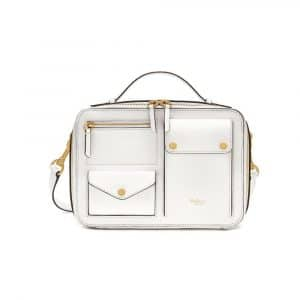 Mulberry White Cherwell Square Bag