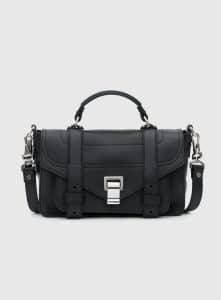 Proenza Schouler Black PS1+ Tiny Bag