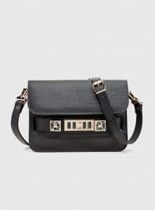 Proenza Schouler Black PS11 Mini Classic Bag