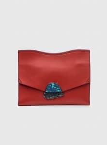 Proenza Schouler Brick Medium Curl Clutch Bag