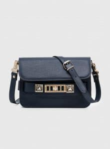 Proenza Schouler Indigo PS11 Mini Classic Bag
