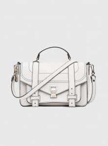 Proenza Schouler Optic White PS1+ Medium Bag