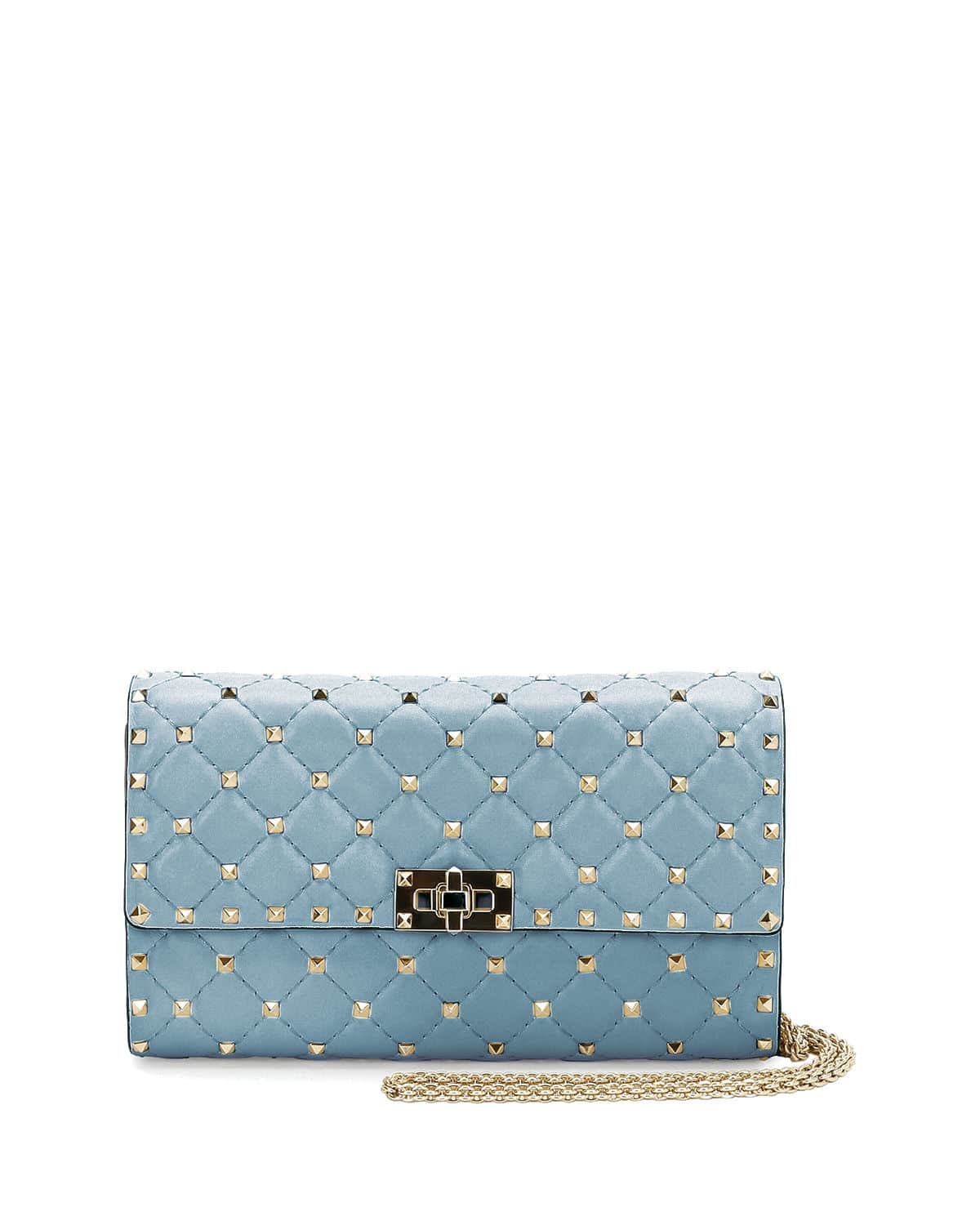 Really Clearance Store Cheap Online Rockstud Spike chain bag - Blue Valentino rwXrukNijH