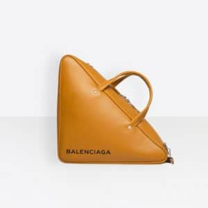 Balenciaga Beige Caramel Triangle Duffle M Bag