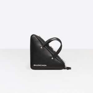 Balenciaga Black Triangle Duffle S Bag