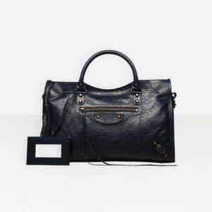 Balenciaga Bleu de Minuit Classic City Bag