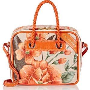 Balenciaga Floral Blanket Small Square Bag