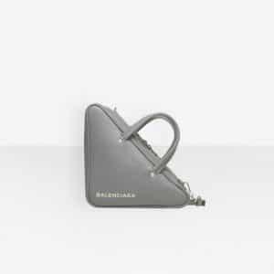 Balenciaga Gris Beton Triangle Duffle S Bag