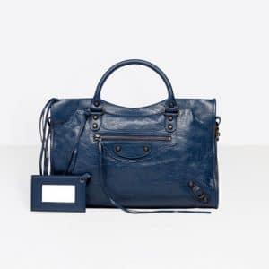 Balenciaga Gris Chartreux Classic City Bag