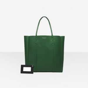 Balenciaga Vert Irlandais/Black Everyday Tote M Bag