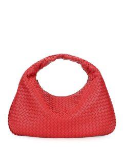 Bottega Veneta Red Large Veneta Bag