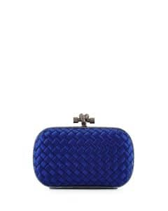 Bottega Veneta Royal Satin Knot Clutch Bag