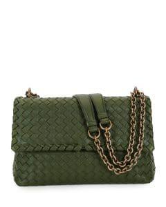 Bottega Veneta Sage Olimpia Small Shoulder Bag