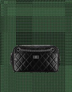 Chanel Black 2.55 Reissue Camera Case Bag