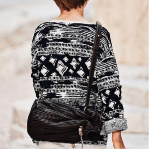 Chanel Black Drawstring Bag - Cruise 2018