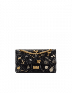Chanel Black Lucky Charms 2.55 Reissue Size 225 Bag