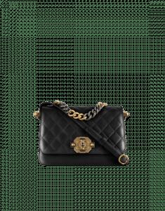 Chanel Lambskin Medium Flap Bag