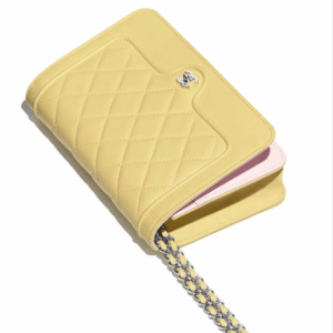 Chanel Quilted Wallet on Chain Bag 2
