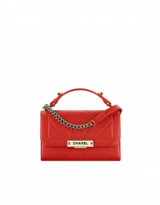 Chanel Red Label Click Small Flap Bag