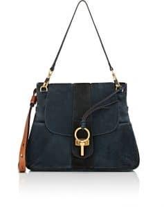Chloe Blue Lexa Medium Bag