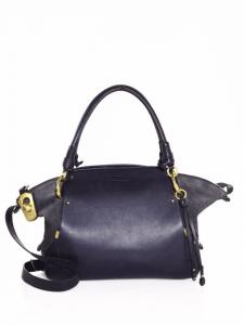 Chloe Blue Owen Medium Satchel Bag